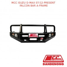MCC FALCON BAR A-FRAME SUIT ISUZU D-MAX WITH FOG LIGHTS (07/2012-PRESENT)