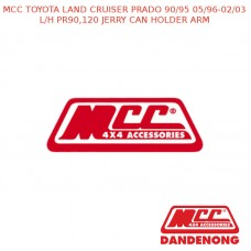 MCC BAR L/H PR90,120 JERRY CAN HOLDER ARM-LAND CRUISER PRADO 90/95 (05/96-02/03)