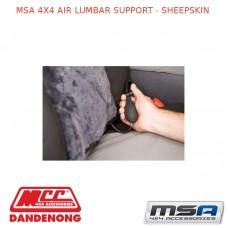 MSA 4X4 AIR LUMBAR SUPPORT - SHEEPSKIN