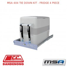 MSA 4X4 TIE DOWN KIT - FRIDGE 4 PIECE