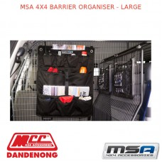 MSA 4X4 BARRIER ORGANISER - LARGE