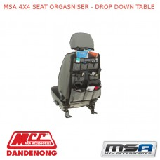 MSA 4X4 SEAT ORGASNISER - DROP DOWN TABLE
