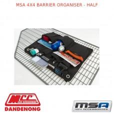 MSA 4X4 BARRIER ORGANISER - HALF