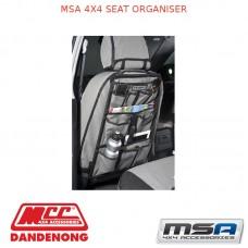 MSA 4X4 SEAT ORGANISER
