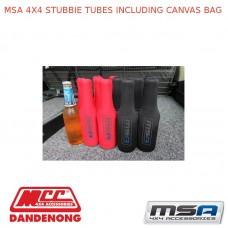 MSA 4X4 STUBBIE TUBES INCLUDING CANVAS BAG