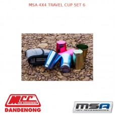 MSA 4X4 TRAVEL CUP SET 6