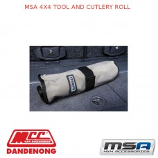 MSA 4X4 TOOL AND CUTLERY ROLL